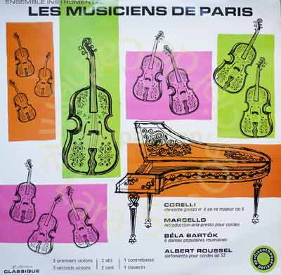 Les Musiciens de Paris  1969