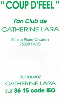 Fan-Club de Catherine-1987